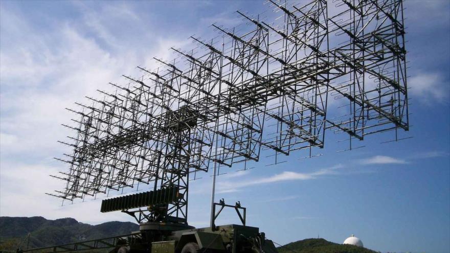El radar JY-27 de fabricacion china.