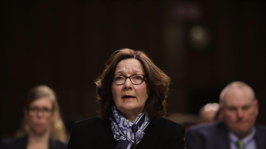 La directora de la CIA, Gina Haspel, testifica en una audiencia del Comité de Inteligencia del Senado en Washington, 29 de enero de 2019. (Foto: AFP)
