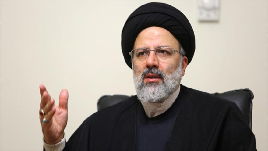 El presidente del Poder Judicial de Irán, Seyed Ebrahim Raisi.