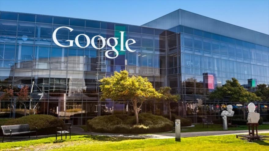Sede de Google (también conocida como Googleplex) en California, suroeste de Estados Unidos.