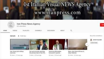Tras HispanTV y Press TV, Google bloquea en YouTube a Iran Press