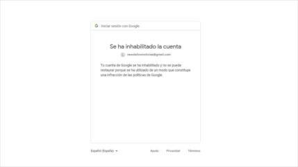 Google restringe acceso de HispanTV a comentarios de lectores