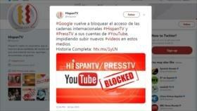 Usuarios de Twitter reaccionan a censura de HispanTV y Press TV