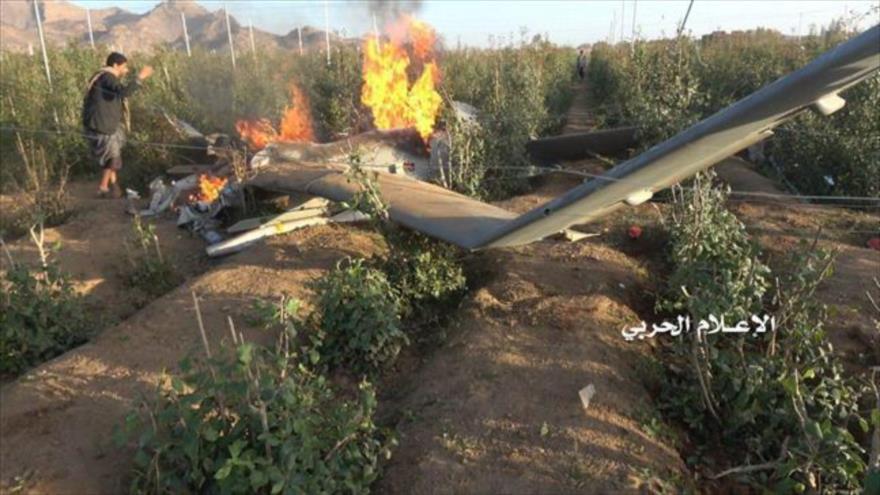 Vídeo: Fuerzas yemeníes derriban dron espía saudí en Saada | HISPANTV