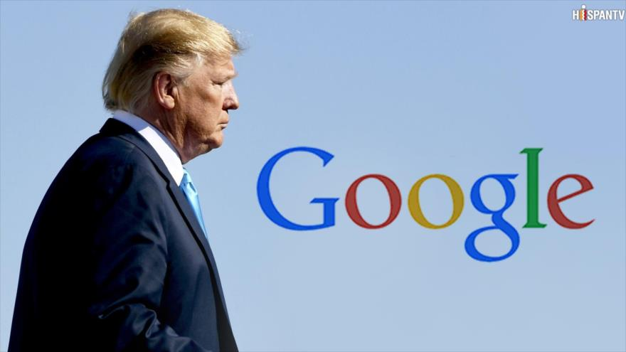 Google baila al son de Trump y bloquea a HispanTV y Press TV | HISPANTV