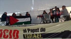 BDS México denuncia el militarismo israelí en América Latina