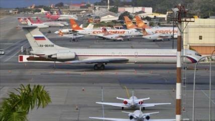 EEUU insta a impedir llegada de aviones rusos a Venezuela