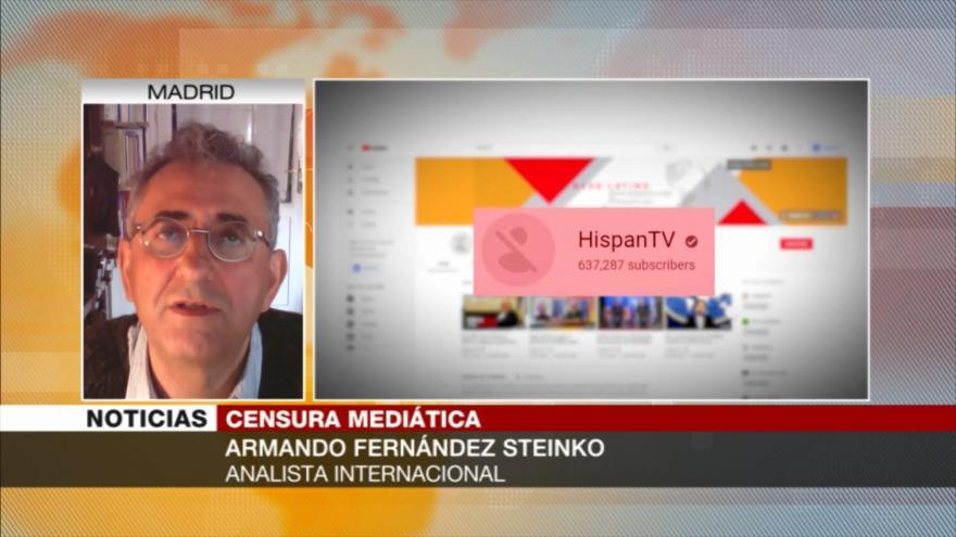 Steinko: EEUU viola la ley al censurar a HispanTV y PressTV | HISPANTV