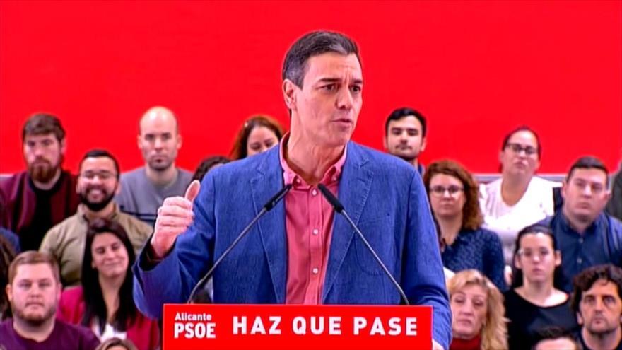 Sánchez alerta de peligro de involución si no se vota al PSOE