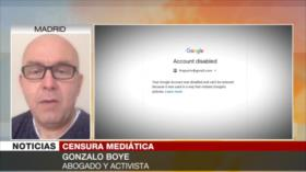 Boye: Censura de Google a HispanTV y PressTV es un abuso
