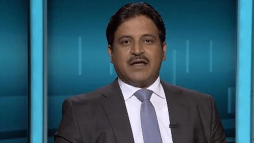 El periodista saudí, expresentador de la cadena Al Jazeera, Ali al-Dhafiri.
