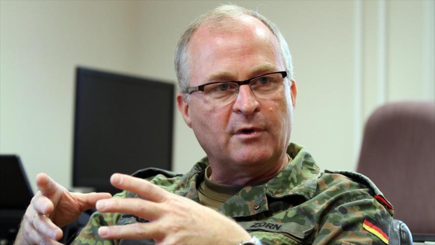 El jefe del Estado Mayor alemán, el general Eberhard Zorn.