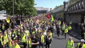 Bloqueo a HispanTV. Protestas en Francia. Agresión saudí a Yemen