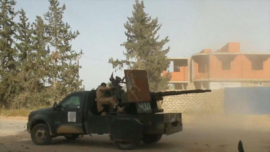Enfrentamientos en Libia. Censura a HispanTV. Represión en Londres