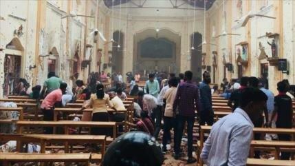 207 muertos y 450 heridos en múltiples explosiones en Sri Lanka