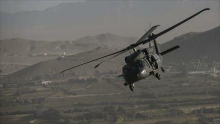 'Terrorista Centcom construye un helipuerto en el oeste de Irak'