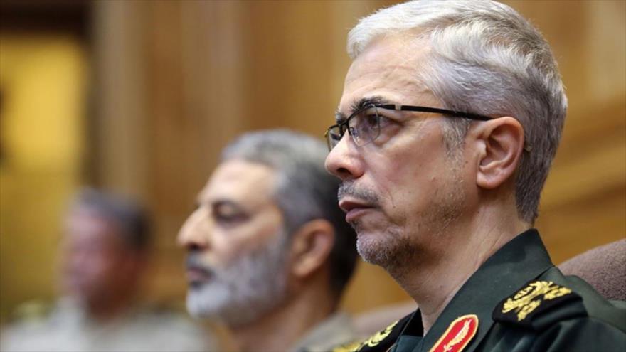 El jefe del Estado Mayor de las Fuerzas Armadas de Irán, Mohamad Baqeri.