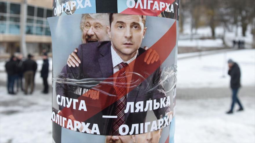 ¿Elegirá Ucrania con Zelenski a su primer presidente judío?