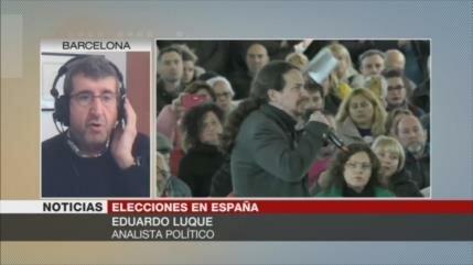 Luque: La UE presiona por un Gobierno español PSOE-Ciudadanos
