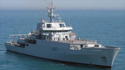 Buque de reconocimiento británico se adentra en el mar Negro