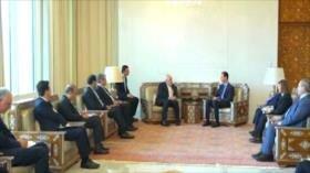 Damasco, centro de diálogos entre delegaciones de la región