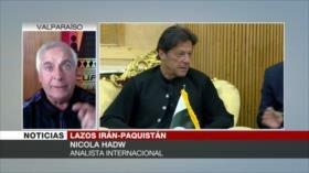 Hadwa: Acercamiento Irán-Paquistán inquieta a EEUU y Occidente