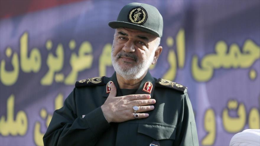 El general de división Hosein Salami, nuevo comandante en jefe del Cuerpo de Guardianes de la Revolución Islámica (CGRI) de Irán.