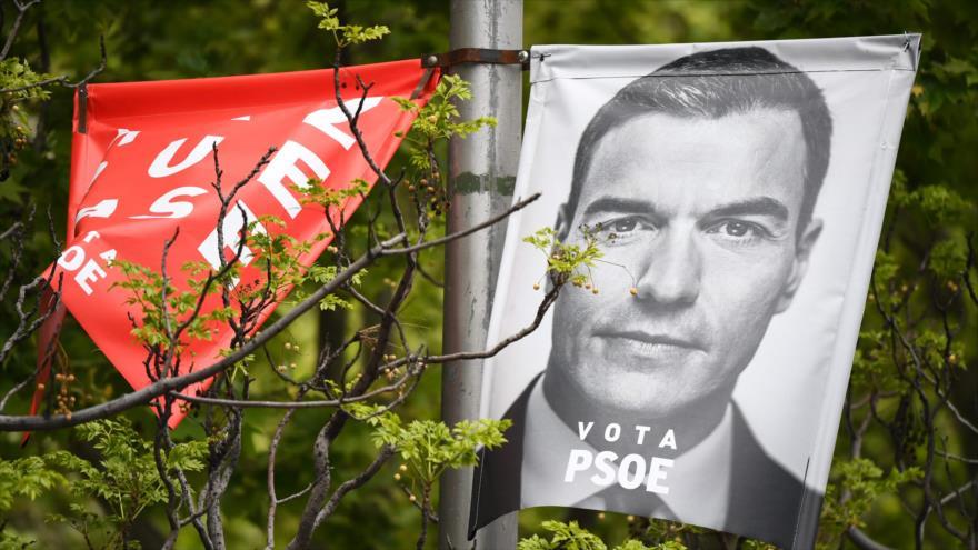 PSOE encabeza sondeos pero necesitará pactar para gobernar España | HISPANTV