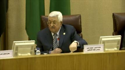 """Palestina y la Liga Árabe repudian el """"acuerdo del siglo"""" de Trump"""