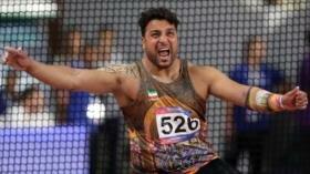 Atleta iraní gana la medalla de oro en lanzamiento de disco de Asia