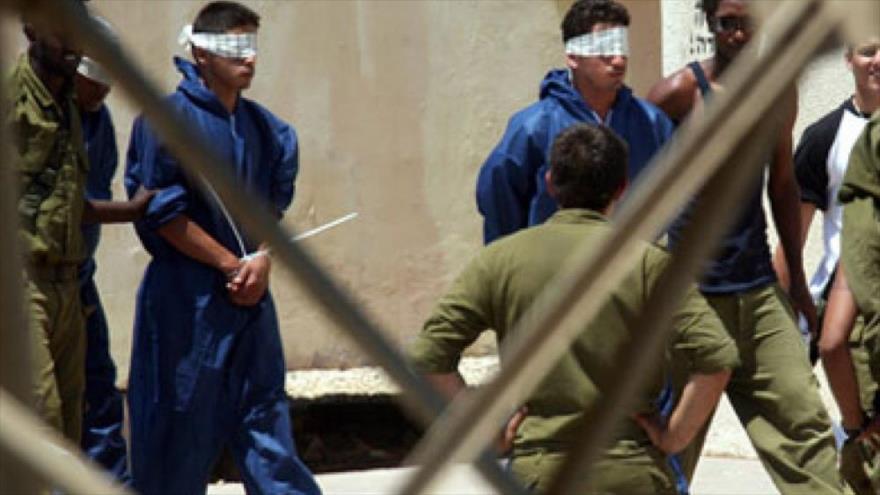 Los palestinos detenidos en las cárceles del régimen de Israel en los territorios ocupados palestinos.
