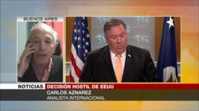 'Medida autoritaria y de presión de EEUU contra Irán es un fiasco'