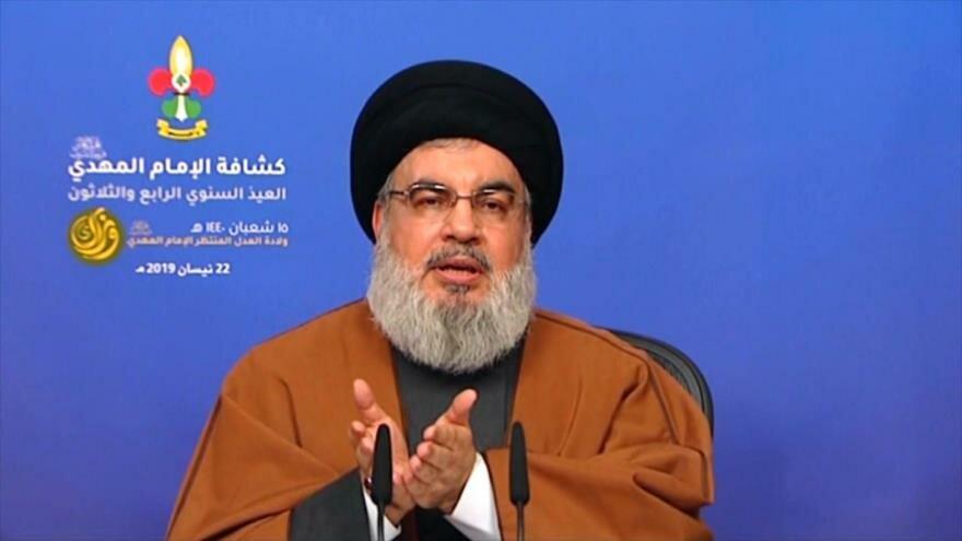 El Líbano: Nasralá condena sanciones unilaterales contra Irán