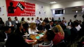 Continúa huelga de trabajadores universitarios en México