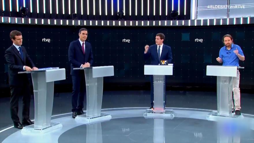 Primer debate electoral en España antes del 28-A