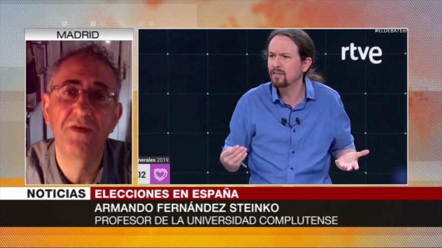 Steinko: Iglesias tuvo éxito relativo en primer debate electoral