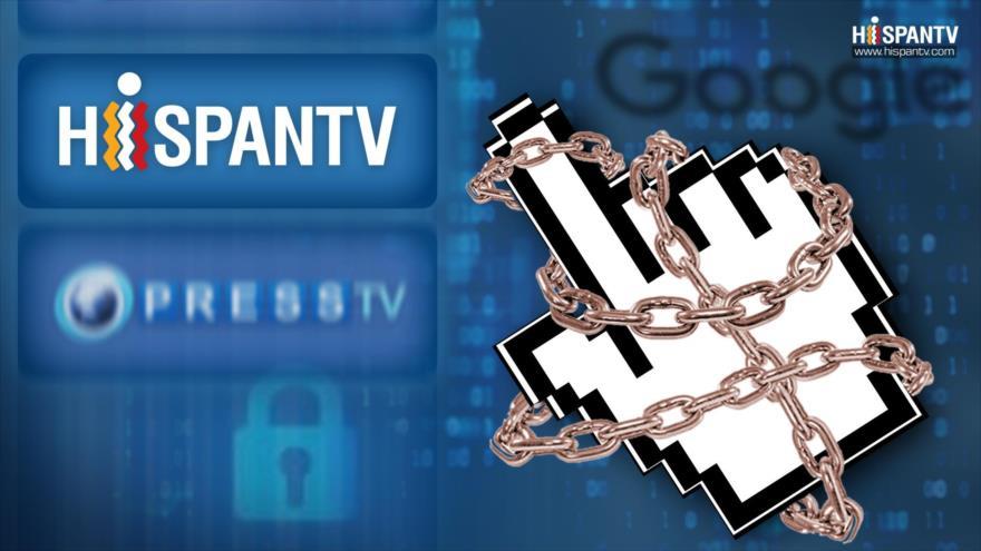 Miedo a libertad de información; Google censura a HispanTV y Press TV