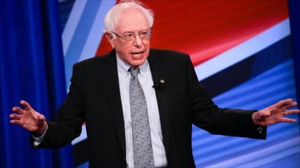 """Sanders tacha de """"racista"""" a Netanyahu por reprimir a palestinos"""
