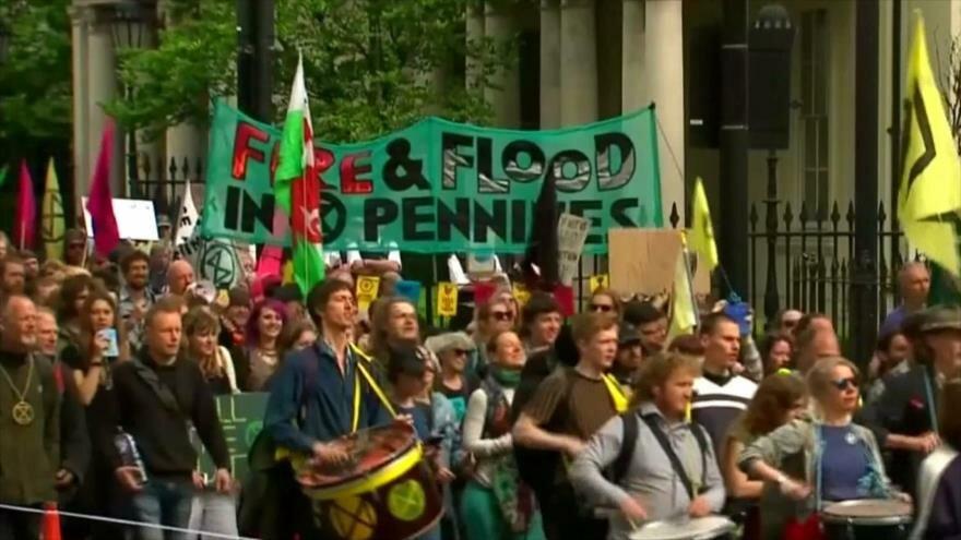 Sanciones al crudo iraní. Terrorismo de EEUU. Marcha en Londres