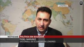 Lenín Moreno traicionó a Assange al entregarlo a Reino Unido