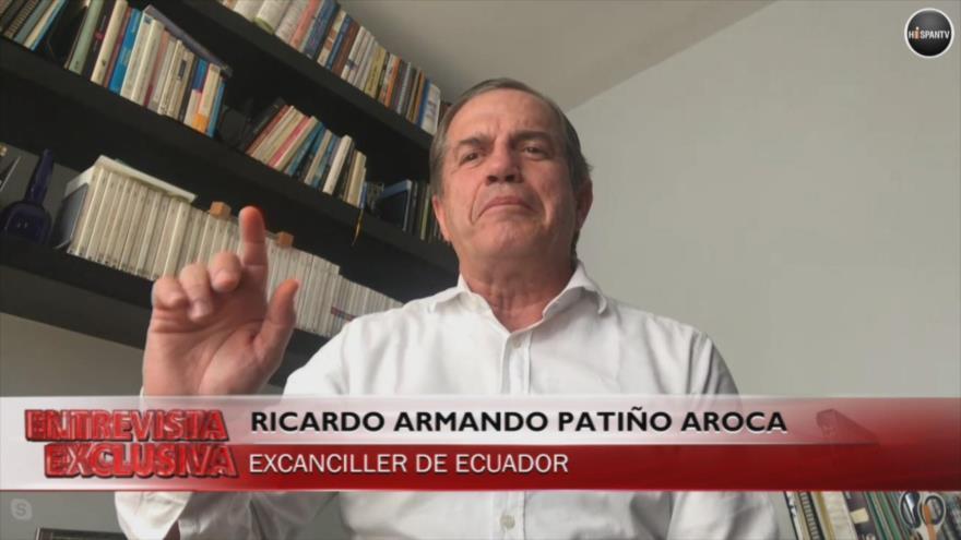 Patiño: Correa defendió a Assange pese a amenazas de Londres