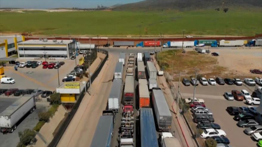 México critica los retrasos en cruces fronterizos con EEUU