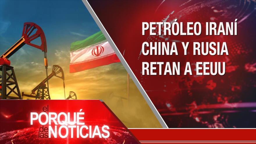 El Porqué de las Noticias: Sanciones al crudo iraní. Persecución política al correismo. Crisis migratoria en Centroamérica