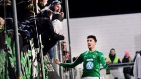 Vídeo: Futbolista iraquí marca un golazo desde la media cancha