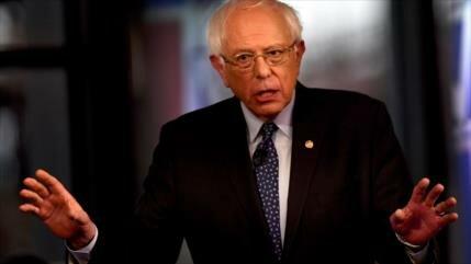 Sionistas, enojados por tachar Sanders de 'racista' a Israel