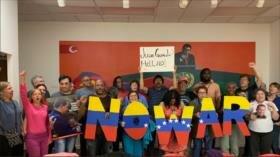 Activistas en EEUU buscan impedir toma de embajada por Guaidó