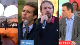 A solo unos días de comicios, España vive fervor de elecciones