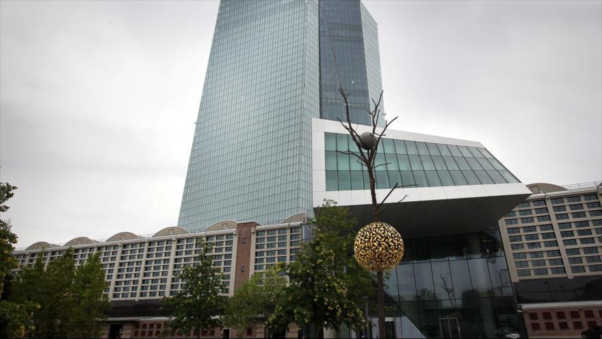 La sede del Banco Central Europeo (BCE) en Fráncfort del Meno, Alemania, 13 de septiembre de 2018. (Foto: AFP)