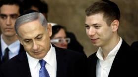 Se mofan de hijo de Netanyahu por negar la existencia de Palestina