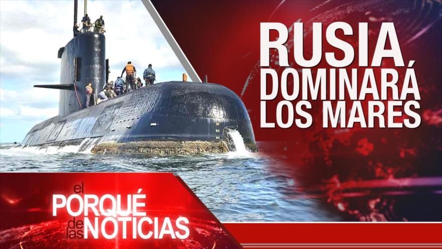 El Porqué de las Noticias: Rechazo a sanciones de EEUU. Avances militares de Rusia. Elecciones de España